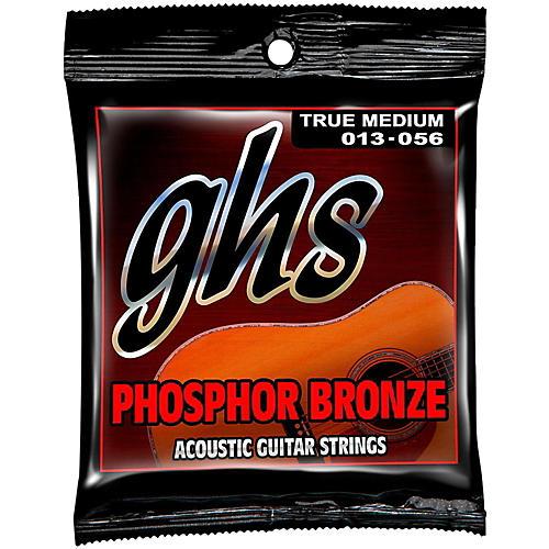 GHS Phosphor Bronze Acoustic Guitar Strings True Medium