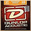 Dunlop Phosphor Bronze Extra Light Acoustic Guitar Strings  Thumbnail