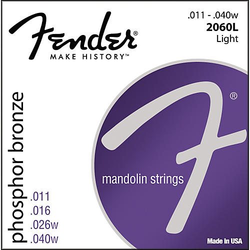 Fender Phosphor Bronze Mandolin Strings - Light