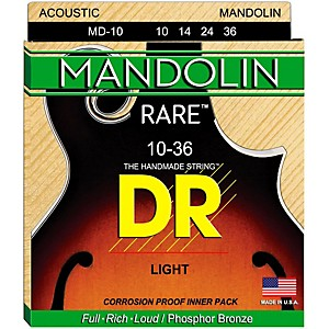 DR Strings Phosphor Bronze Mandolin Strings by DR Strings