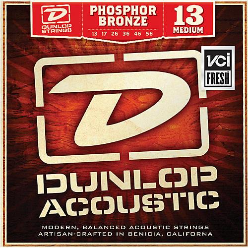 Dunlop Phosphor Bronze Medium Acoustic Guitar Strings