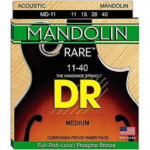 DR Strings Phosphor Bronze Medium Mandolin Strings by DR Strings