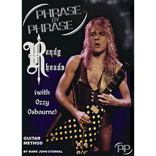 MJS Music Publications Phrase By Phrase Guitar Method - Randy Rhoads (with Ozzy Osbourne)-thumbnail