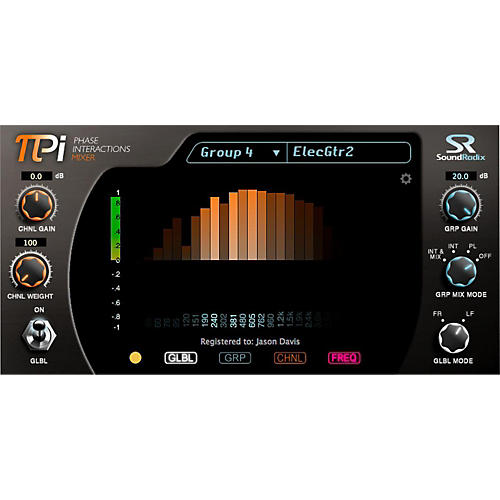 Sound Radix Pi Phase Interactions Mixer Software Download