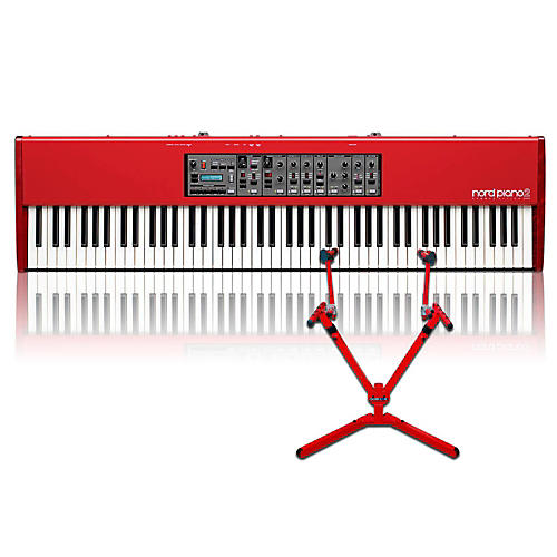 Nord Piano 2 HA88 with Matching 2-Tier Keyboard Stand-thumbnail