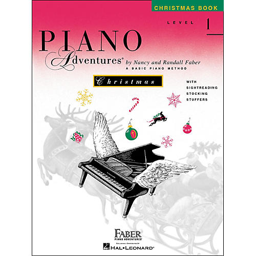 Faber Piano Adventures Piano Adventures Christmas Book Level 1 - Faber Piano-thumbnail