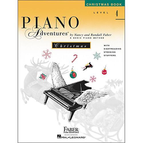 Faber Piano Adventures Piano Adventures Christmas Book Level 4 - Faber Piano