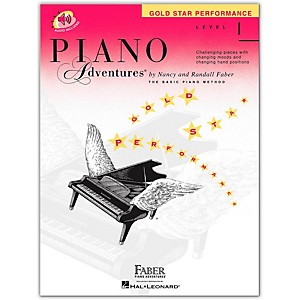 Faber Piano Adventures Piano Adventures Gold Star Performance Level 1 - Fab... by Faber Piano Adventures
