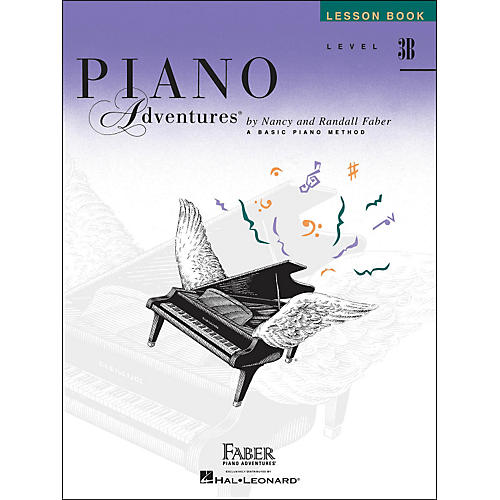 Faber Piano Adventures Piano Adventures Lesson Book Level 3B-thumbnail