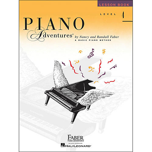 Faber Piano Adventures Piano Adventures Lesson Book Level 4-thumbnail