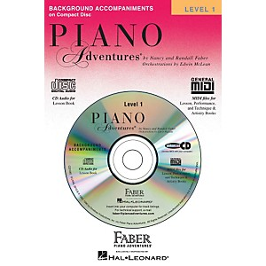 Faber Piano Adventures Piano Adventures Lesson CD Level 1 with Practice And... by Faber Piano Adventures