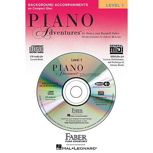 Faber Piano Adventures Piano Adventures Lesson CD Level 1 with Practice And Performance Tempos - Faber Piano
