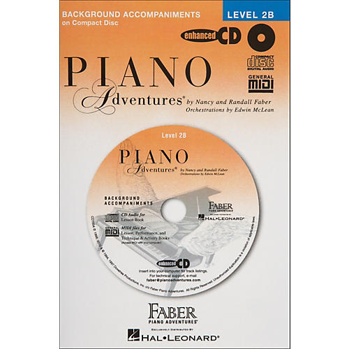 Faber Piano Adventures Piano Adventures Lesson CD for Level 2B - Faber Piano