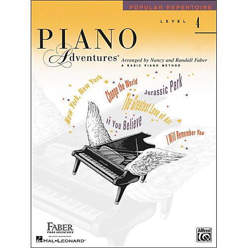 Faber Piano Adventures Piano Adventures Popular Repertoire Level 4 - Faber Piano
