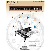 Faber Piano Adventures Piano Adventures Practice time assignment Book - Faber Piano