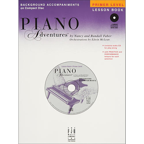 Faber Piano Adventures Piano Adventures Primer Level Lesson CD with Practice And Performance Tempos - Faber Piano