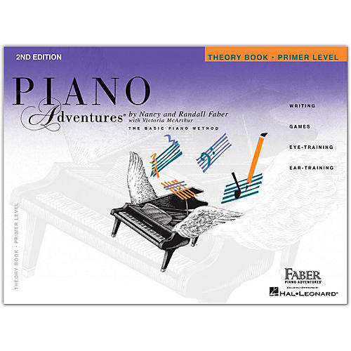 Faber Piano Adventures Piano Adventures Theory Book - Primer Level, 2nd Edition-thumbnail