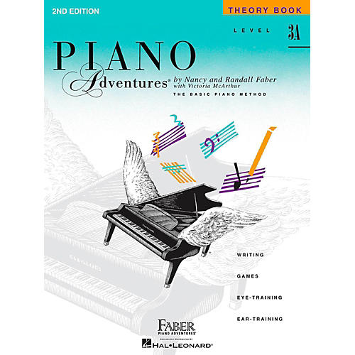 Faber Piano Adventures Piano Adventures Theory Book Level 3A-thumbnail