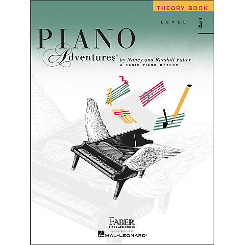 Faber Piano Adventures Piano Adventures Theory Book Level 5 - Faber Piano-thumbnail