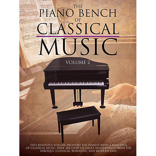 Music Sales Piano Bench Of Classical Music Vol. 2 for Piano Solo