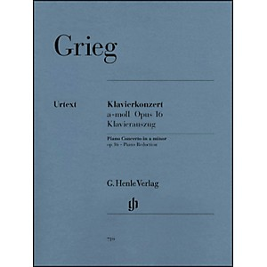 Click here to buy G. Henle Verlag Piano Concerto A minor Op. 16 By Grieg by G. Henle Verlag.