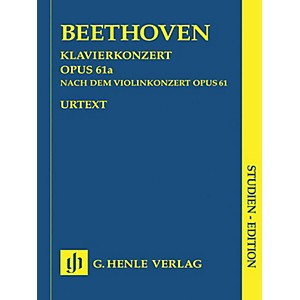 Click here to buy G. Henle Verlag Piano Concerto D Major Op. 61a After the Violin Concerto He... by G. Henle Verlag.