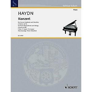 Schott Piano Concerto F Major Schott Series by Schott