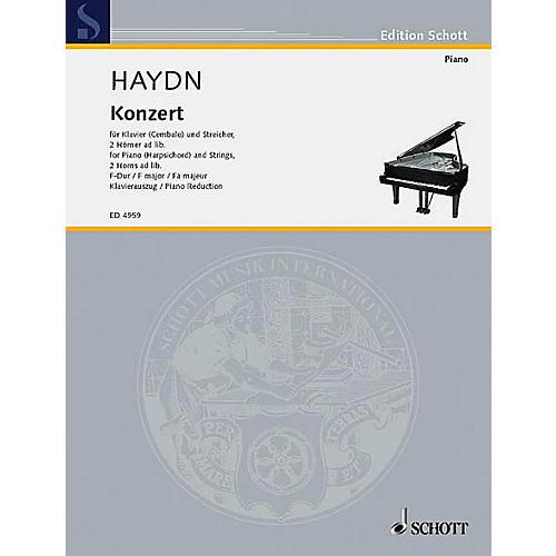 Schott Piano Concerto F Major Schott Series