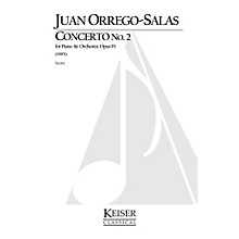 Lauren Keiser Music Publishing Piano Concerto No. 2, Op. 93 LKM Music Series Composed by Juan Orrego-Salas