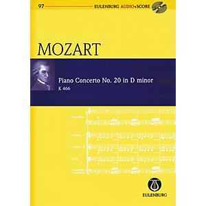 Schott Piano Concerto No. 20 in D Minor Study Score Series Softcover with C... by Schott