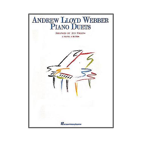 Hal Leonard Piano Duets Andrew Lloyd Webber 1 Piano 4 Hands