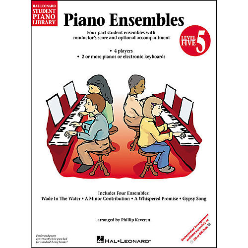 Hal Leonard Piano Ensembles Book 5 Hal Leonard Student Piano Library by Phillip Keveren-thumbnail