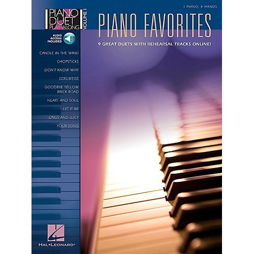 Hal Leonard Piano Favorites Volume 1 Book/CD 1 Piano 4 Hands-thumbnail