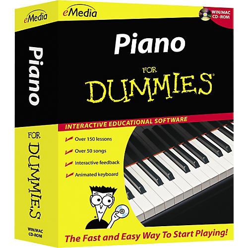 Emedia Piano For Dummies Level 1 (CD-ROM)