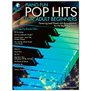 Hal Leonard Piano Fun - Pop Hits For Adult Beginners Book/CD