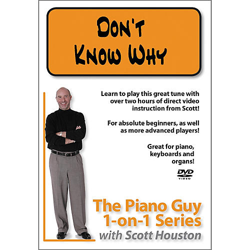 Hal Leonard Piano Guy 1-On-1 Series - Don't Know Why (DVD)-thumbnail