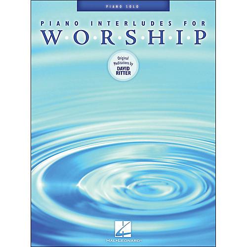Hal Leonard Piano Interludes for Worship Piano Solos-thumbnail