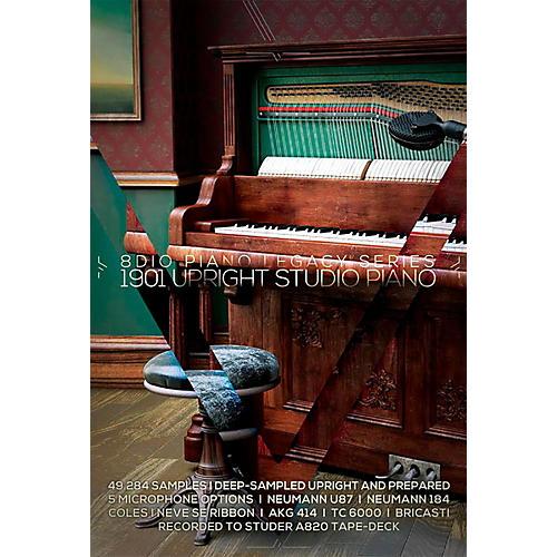 8DIO Productions Piano Legacy Series: 1901 Upright Studio Piano