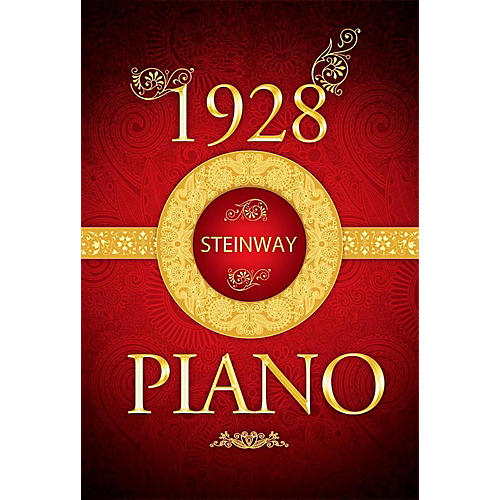 8DIO Productions Piano Legacy Series: 1928 Steinway Piano