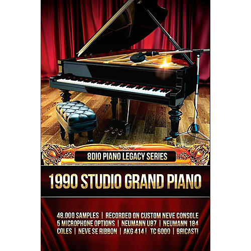 8DIO Productions Piano Legacy Series: 1990 Prepared Grand Piano-thumbnail