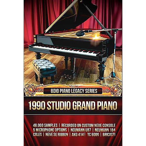 8DIO Productions Piano Legacy Series: 1990 Studio Grand Piano-thumbnail