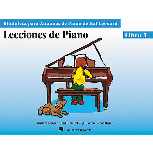 Hal Leonard Piano Lessons Book 1 - Spanish Edition