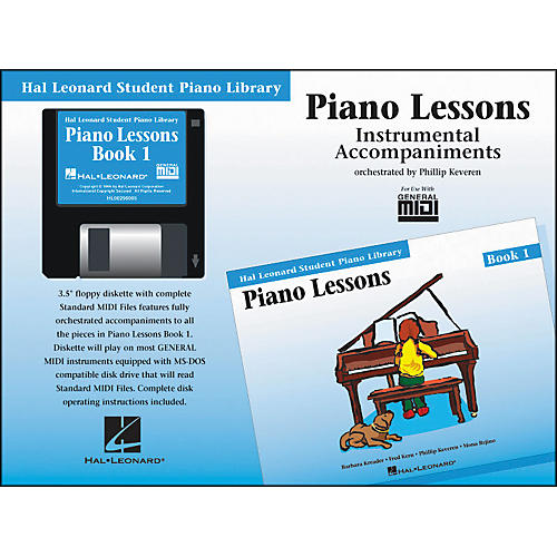 Hal Leonard Piano Lessons Book 1 Accompaniment General MIDI Disk Hal Leonard Student Piano Library-thumbnail
