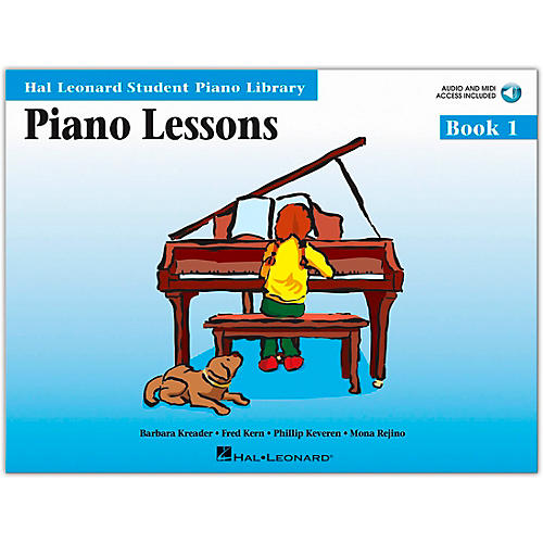 Hal Leonard Piano Lessons Book 1 Book/CD Package HLSPL