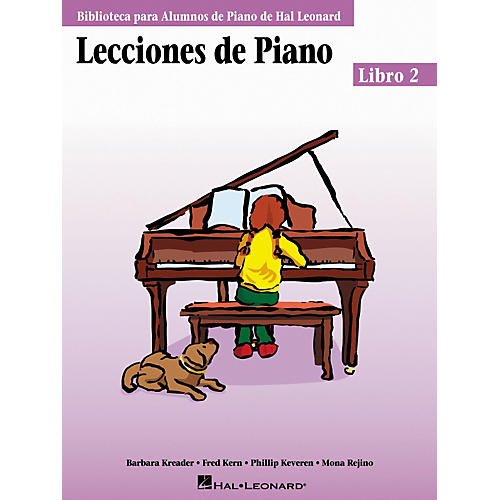 Hal Leonard Piano Lessons Book 2 - Spanish Edition Hal Leonard Student Piano Library