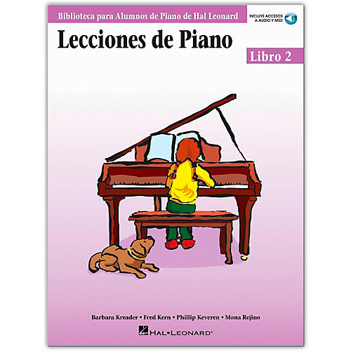 Hal Leonard Piano Lessons Book 2 Book/Online Media - Spanish Edition Hal Leonard Student Piano Library-thumbnail