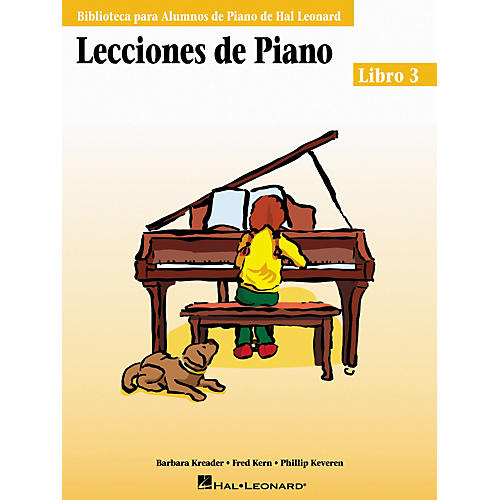 Hal Leonard Piano Lessons Book 3 - Spanish Edition Hal Leonard Student Piano Library-thumbnail