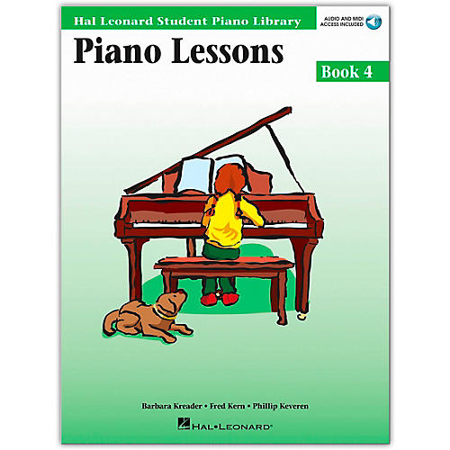 Hal Leonard Piano Lessons Book 4 Book/CD Package Hal Leonard Student Piano Library-thumbnail