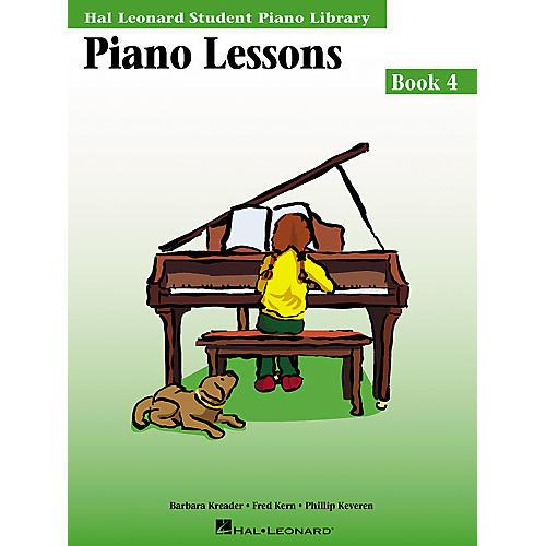Hal Leonard Piano Lessons Book 4 Hal Leonard Student Piano Library-thumbnail