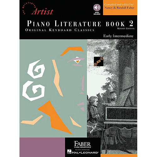 Faber Piano Adventures Piano Literature Book 2 - Developing Artist Original Keyboard Classics Book/CD - Faber Piano-thumbnail